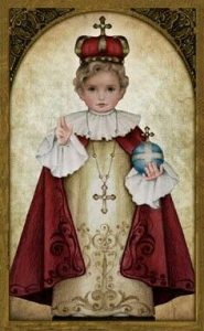 Picture of the Infant Jesus of Prague